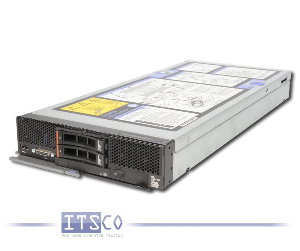 SERVER-IBM-FLEX-SYSTEM-x240-INTEL-QUAD-CORE-XEON-E5-2609-16GB-2x-300GB-8737-D2G