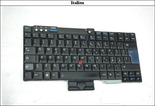 italienisches Layout
