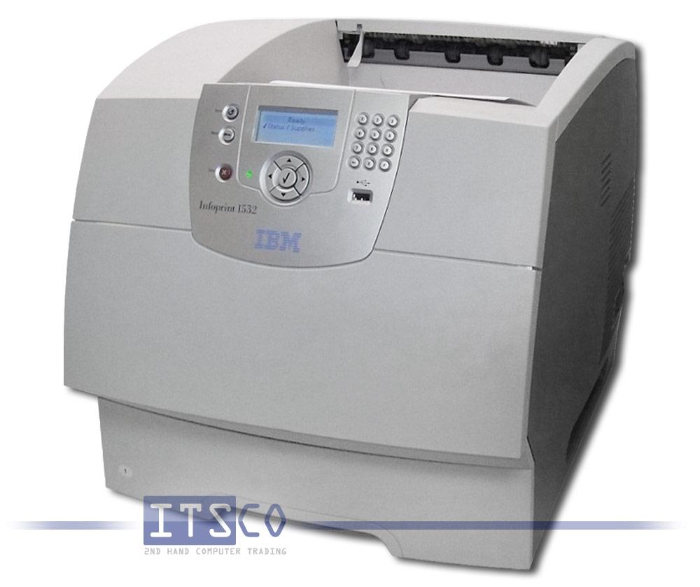 laserdrucker ibm infoprint 1532n 4536 no2 g nstig. Black Bedroom Furniture Sets. Home Design Ideas