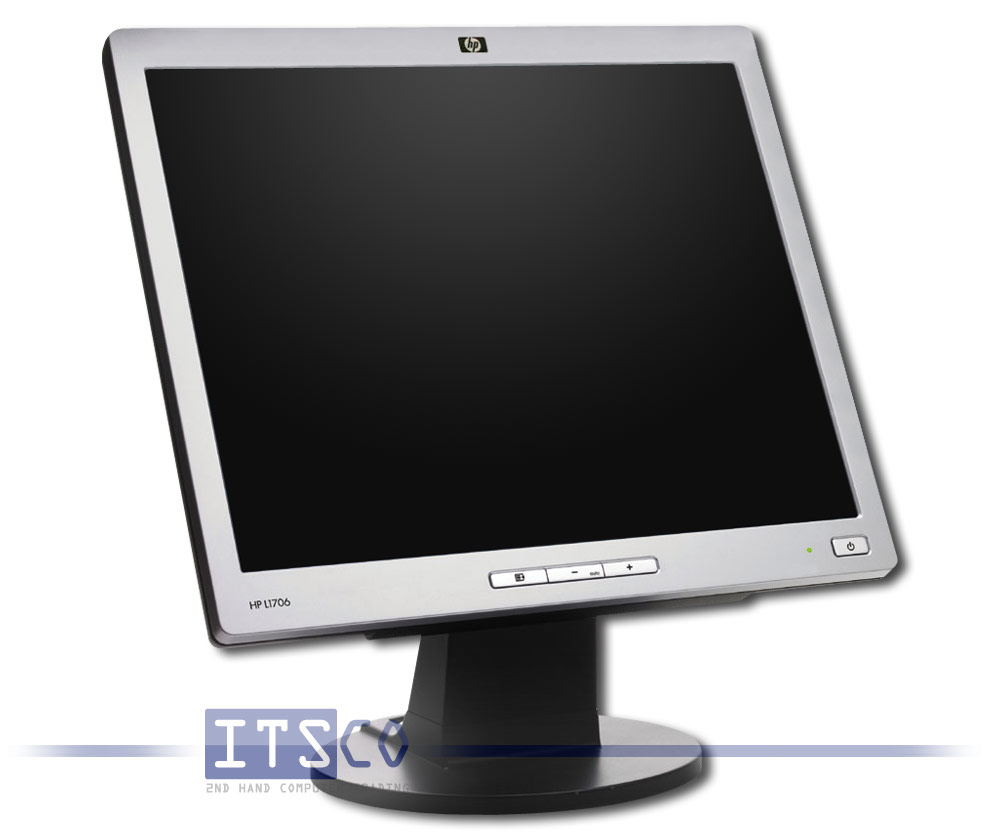 hp l1706 monitor 17 zoll g nstig gebraucht kaufen bei itsco. Black Bedroom Furniture Sets. Home Design Ideas