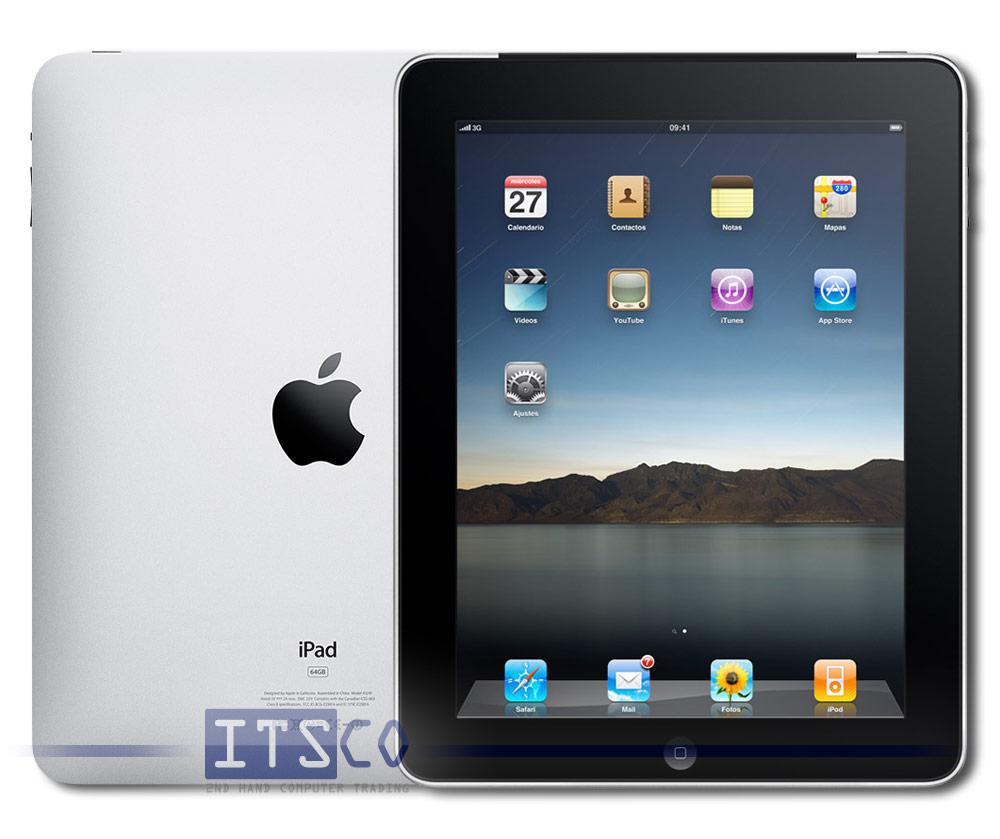 apple ipad 1 3g 64 gb b ware g nstig gebraucht kaufen bei. Black Bedroom Furniture Sets. Home Design Ideas