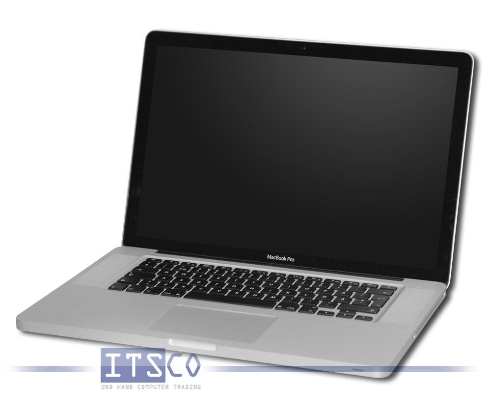 Apple MacBook Pro 6.2 A1286 UK/Englische Tastatur günstig gebraucht ...