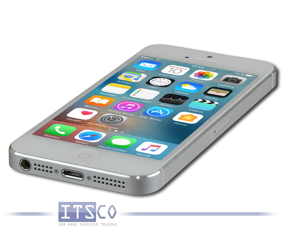apple iphone 5 a1429 32 gb g nstig gebraucht kaufen bei itsco. Black Bedroom Furniture Sets. Home Design Ideas