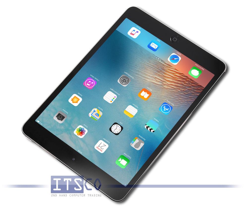 apple ipad mini 2 wifi space grau g nstig gebraucht kaufen bei itsco. Black Bedroom Furniture Sets. Home Design Ideas