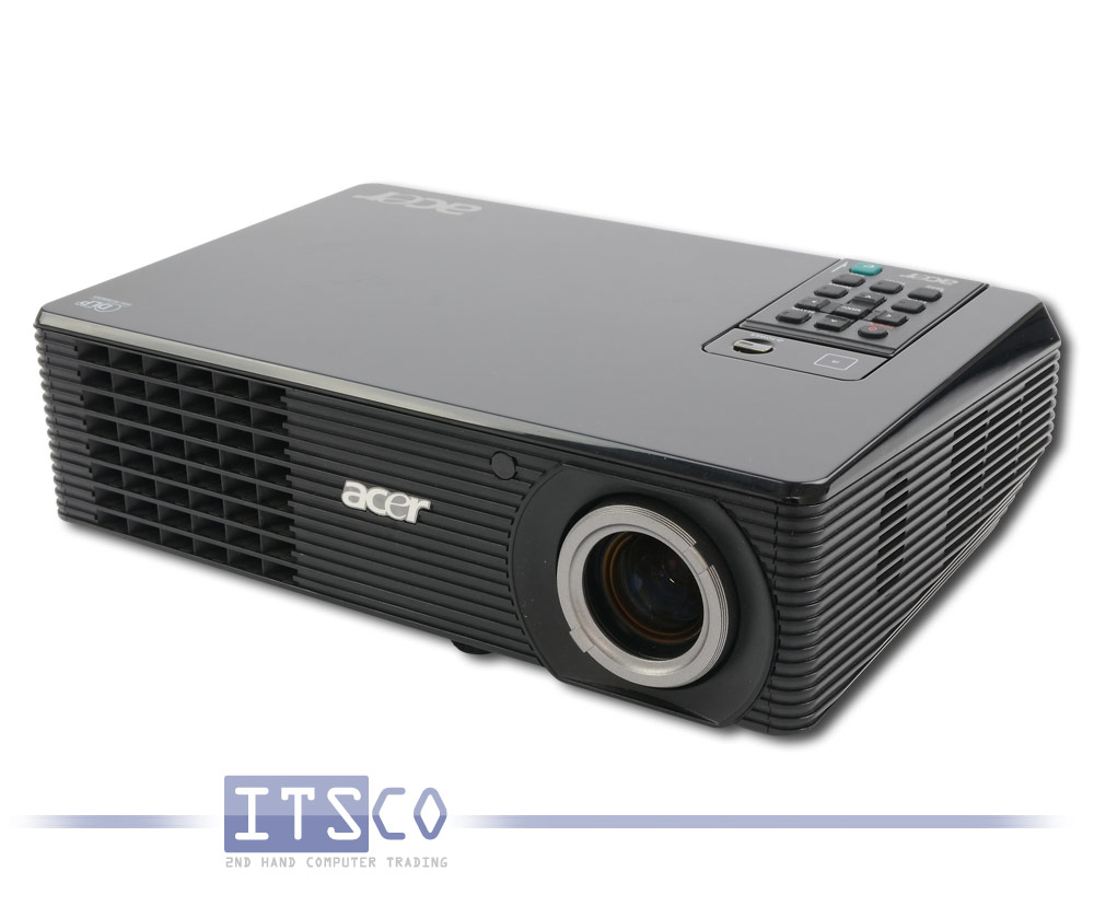 acer x1160p dlp projektor g nstig gebraucht kaufen bei itsco. Black Bedroom Furniture Sets. Home Design Ideas
