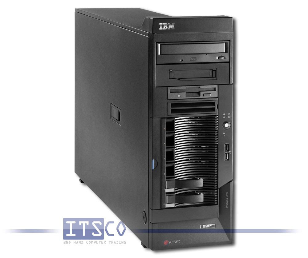ibm server xseries 226 8646 efy g nstig gebraucht kaufen bei itsco. Black Bedroom Furniture Sets. Home Design Ideas