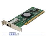 Netzwerkkarte QLogic QLA2460 4-Gigabit Fibre Channel PCI-X halbe Höhe FRU 39M6018