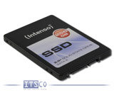 "Solid State Disk Intenso SATA SSD 256GB 2,5"" 7mm Modell: 3812440"