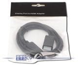 Monitorkabel DisplayPort zu HDMI schwarz 1,80 Meter Neu & OVP