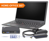 Notebook Lenovo ThinkPad X1 Carbon (5th Gen) Intel Core i5-6300U 2x 2.4GHz inkl.  Dockingstation