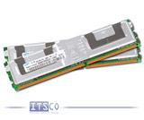 Speicher div. Hersteller 2GB Kit (2x 1GB) DDR2 PC2-5300F 667MHz ECC Fully Buffered