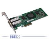 Netzwerkkarte QLogic SanBlade QLE2462 Dualport 4-GigaBit Fibre Channel PCIe x4 volle Höhe