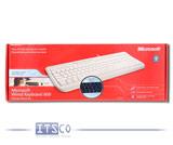 Tastatur Microsoft Wired Keyboard 600 USB-Anschluss Deutsch QWERTZ NEU & OVP