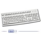 Tastatur Fujitsu Siemens KBPC SX USB D hellgrau 105 Tasten USB-Anschluss