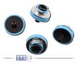 """4x HP 2.5"""" Festplatten Einbauschrauben gummi-isoliert P/N: 594220-001 / 511945-003"""