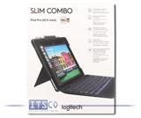 """Schutzhülle Logitech Slim Combo mit Tastatur für iPad Air (3. Generation) iPad Pro 10.5"""""""