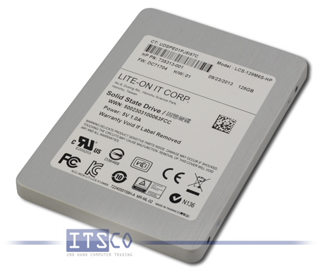 "Solid State Disk Lite-On IT 128GB 2,5"" LCS-128M6S-HP"