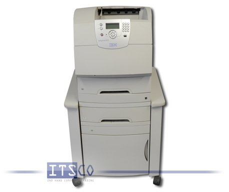 IBM Infoprint 1572 im Rollcontainer