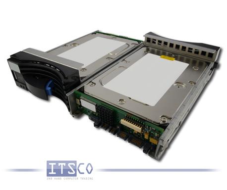 """Festplatte IBM TotalStorage 3.5"""" USCSI-4-320 SSA HDD 72.8GB 17P6311 inkl. Einbaurahmen"""