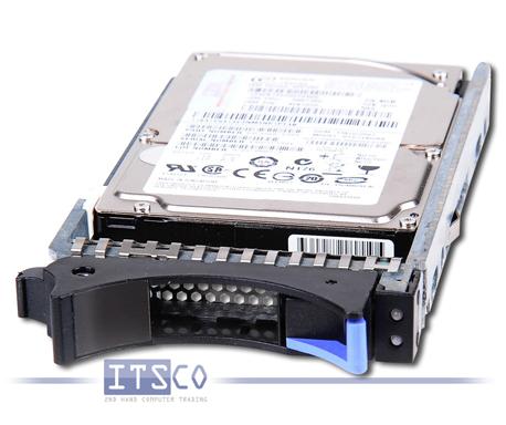 "Festplatte IBM 2.5"" SAS 73.4GB HDD inkl. HotSwap Einbaurahmen"