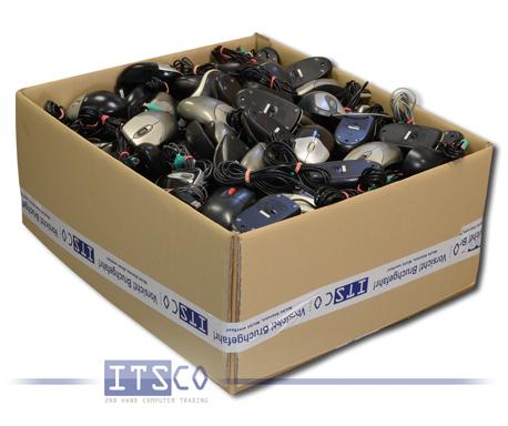 100er Pack Mäuse diverse Hersteller und Modelle