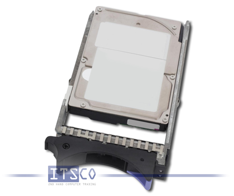 Festplatte IBM SAS 146GB 10K RPM 43X0825 mit Einbaurahmen