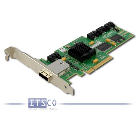 IBM LSI Logic SAS3445E-R SAS PCIe x8 RAID Controller FRU: 44E8701
