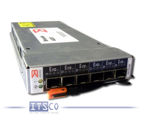 MCDATA 6-PORT GIGABIT SWITCH FIBRE CHANNEL FÜR IBM BLADESERVER RACK 8677
