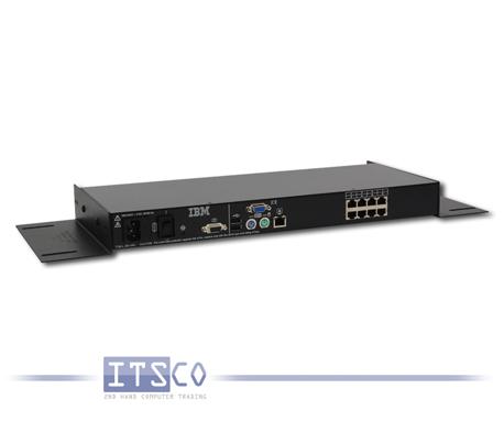 IBM 1x8 Console Switch 1735-3LX