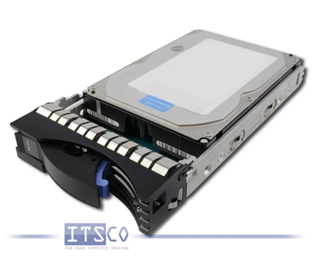 "Festplatte IBM SAS 283GB 3,5"" 15K RPM FRU 42R6692 Hot Swap"