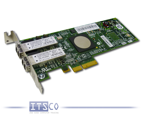 IBM DUAL PORT FIBRE CHANNEL ADAPTER PCIe 43W7512