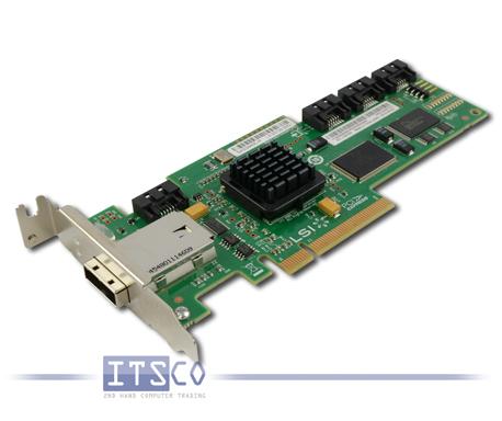 LSI SAS/SATA-Controller SAS3445E-R L3-25139-00G halbe Höhe