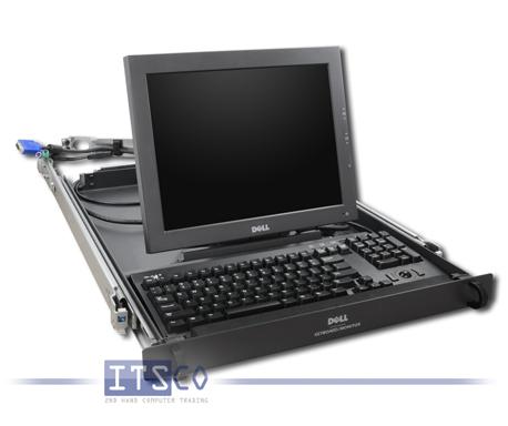 """19"""" Rack Monitor-Tastaturschublade 1U Dell 6H507"""