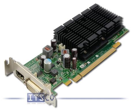 Grafikkarte Fujitsu Siemens NVidia GeForce 8400 LP 256MB PCIe x16 halbe Höhe
