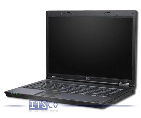 Notebook HP Compaq 8510w Intel Core 2 Duo T7700 2x 2.4GHz Centrino vPro