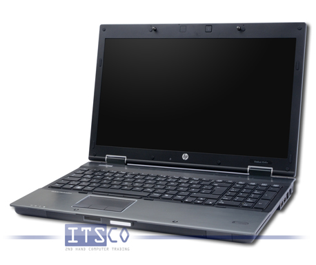 Notebook HP EliteBook 8540w Intel Core i7-740QM vPro 4x 1.73GHz