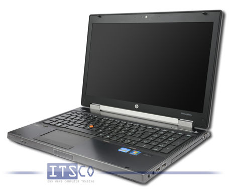 Notebook HP EliteBook 8560w Mobile Workstation Intel Core i7-2820QM vPro 4x 2.3GHz