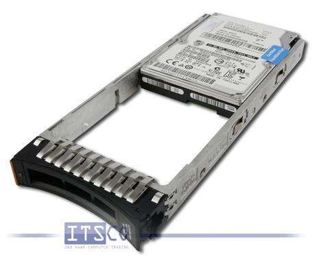 """Festplatte IBM SAS 450GB 2,5"""" 10K RPM FRU 98Y3275 mit Hot-Swap Rahmen lang"""