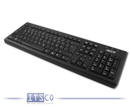 Tastatur Acer PR1101U Schwarz USB-Anschluss Deutsch