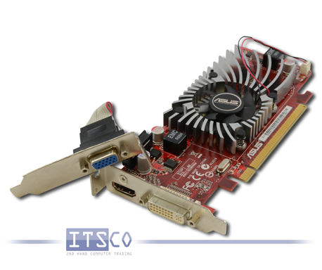 Grafikkarte ASUS ATI Radeon HD4550 PCIe x16 Low-Profile