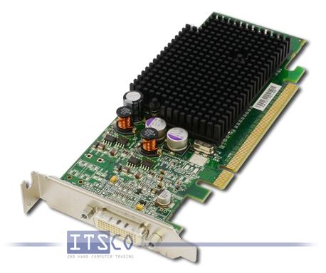 Grafikkarte Dell ATI Radeon X600 256MB PCIe x16 halbe Höhe