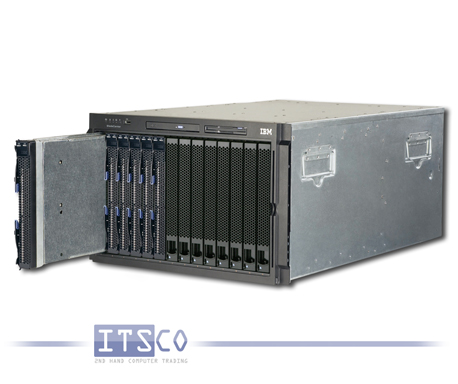 IBM Bladecenter Chassis Rack 8677