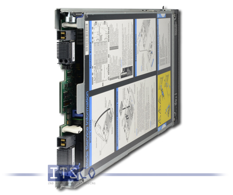 Server IBM Blade HX5 Intel Quad-Core Xeon E7520 4x 1.86GHz 7872