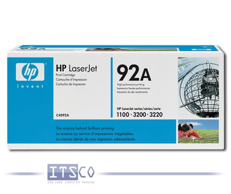 Toner HP 92A C4092A Black