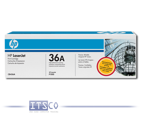 Toner HP CB436A Black
