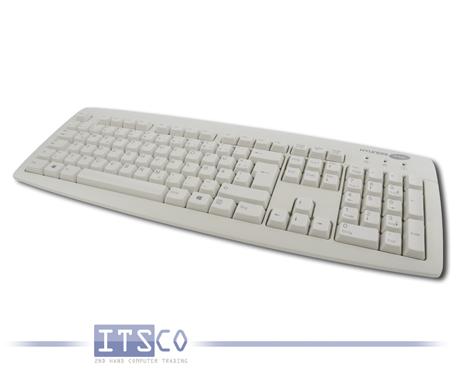 """9x Tastatur Cherry KU-0556 """"Hyundai ITMC"""" Branding QWERTZ USB-Anschluss Weiss"""