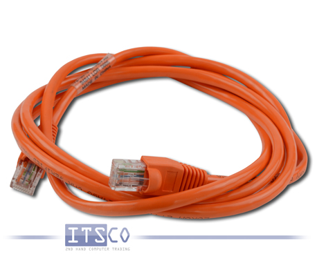 Cisco ISDN Kabel RJ-45 Cat.5 UTP Orange 1,80 Meter PN: 72-1481