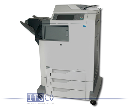Farblaserdrucker HP Color LaserJet CM4730f MFP mit 500 Blatt Ausgabefach