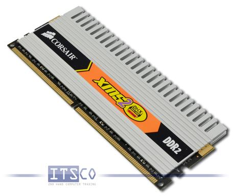 Speicher Corsair Hersteller 2GB DDR2 RAM PC2-6400U 800MHz