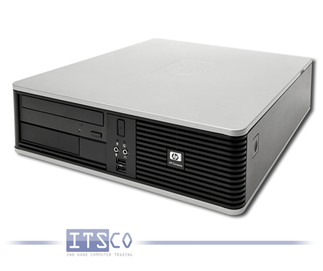 PC HP Compaq dc5800 Intel Core 2 Duo E7200 2x 2.53GHz SFF